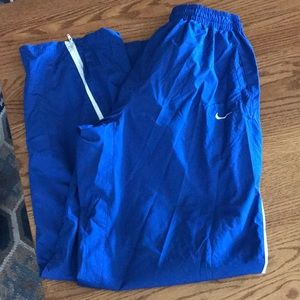 Nike track pants- fit storm